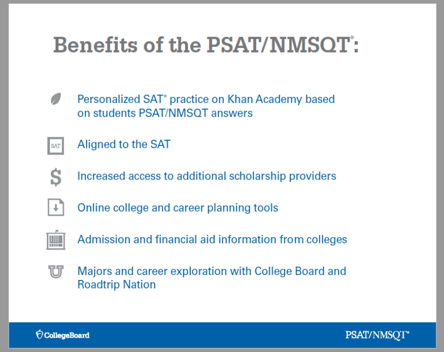 PSAT - Park Hill South High School Counseling